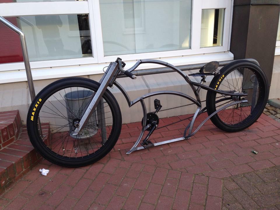 Lujo Cuadro De La Bicicleta Chopper Imagen - Ideas Personalizadas de ...